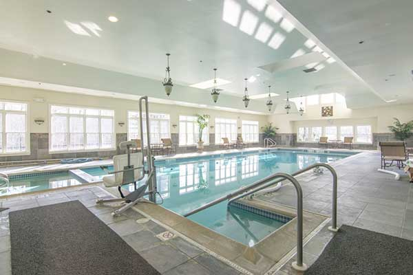 Riviera at Freehold indoor pool